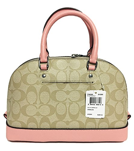 Mini Sierra khaki Shoulder Women��s Coach Satchel Shoulder Purse Inclined Handbag wYxYZXSq