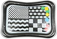 Toyvian Tummy Time Water Mat Inflatable Infant Baby Water Mat Toddler High Contrast Baby Kids Fun Plaything fo