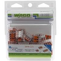 Wago WAG221/PAN50 universele aansluitklemmen voor alle geleiders type 221/2-3-5 ingangen 50 stuks