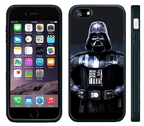 Apple iPhone 6 Black Rubber Silicone Case – Darth Vader Lord Vader Star Wars