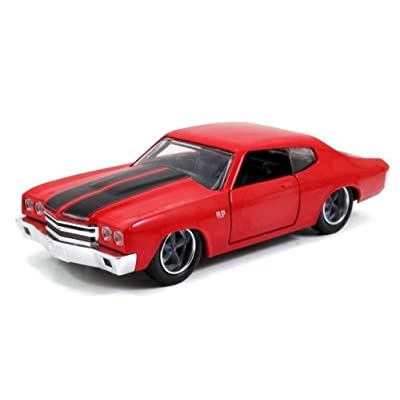 Jada Dom's Chevy Chevelle SS Red Fast & Furious Movie 1/32 97380: Toys & Games