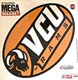 VCU Rams Virginia Commonwealth MEGA Style Logo 12'' Magnet Heavy Duty Auto Home University of