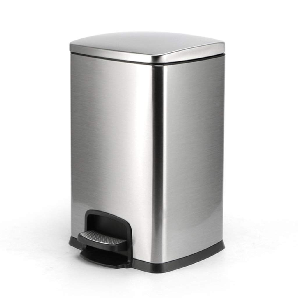 Amazon Com Flysxp Household Stainless Steel Trash Can 20l