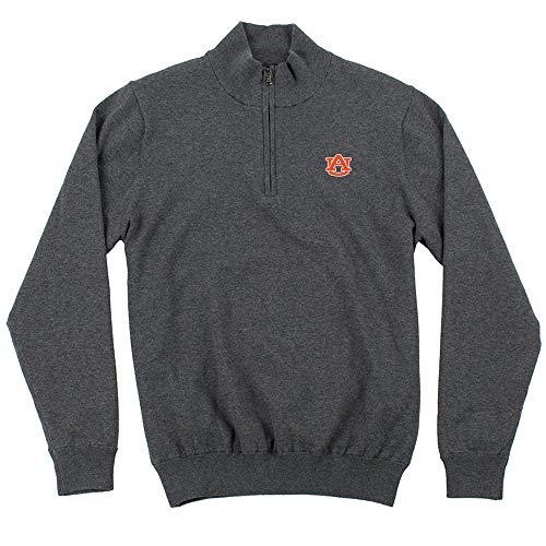 (Oxford NCAA Auburn Tigers Mens Mansell Long Sleeve Line Wind Sweater Pullovermen's Mansell Long Sleeve Line Wind Sweater Pullover, Iron Gate, Small)