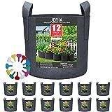 JERIA 12-Pack 1 Gallon, Vegetable/Flower/Plant Grow