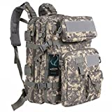 Tactical Backpack - G4Free Military Tactical Molle Backpack Sport Outdoor versatile Rucksacks Camping Hiking Traveling Bag 40L(ACU Camouflage)