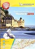 France 2019 - A3 Tourist & Motoring Atlas: Tourist & Motoring Atlas A4 spiral (Michelin Road Atlases)