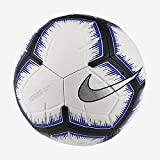 Nike Strike Soccer Ball (White/Racer Blue) (5)