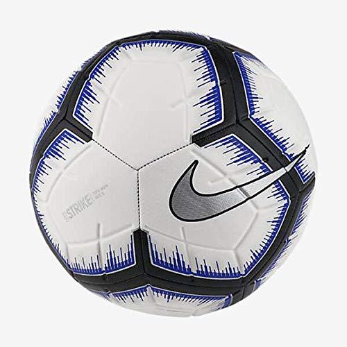 (Nike Strike Soccer Ball (White/Racer Blue) (5))