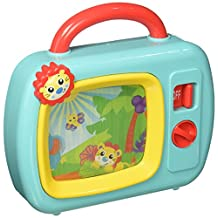 Playgro 6386393 Sights and Sounds Music Box TV for baby infant toddler