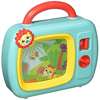 Playgro 6386393 Sights and Sounds Music Box TV STEM toy for Baby