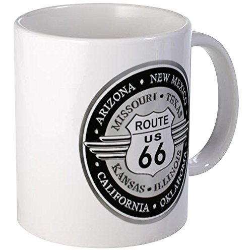 CafePress Route 66 States Mugs Unique Coffee Mug, Coffee Cup ()