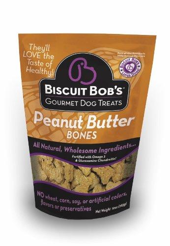 Biscuit Bob's Peanut Butter Bones Dog Treat