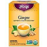 Yogi Tea, Organic Ginger Tea, 1.12 oz, 16 ct