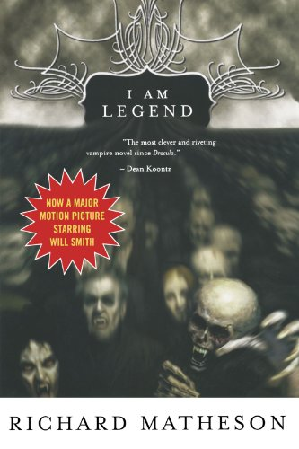 Book cover from I Am Legend by Richard Matheson