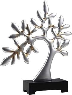 Decorative Ornaments Creative Modern Home Living Room Desk Display Decoration Crafts Artwork (Color : Silver)