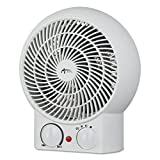 Alera ALEHEFF10W Heater Fan, 8-1/4