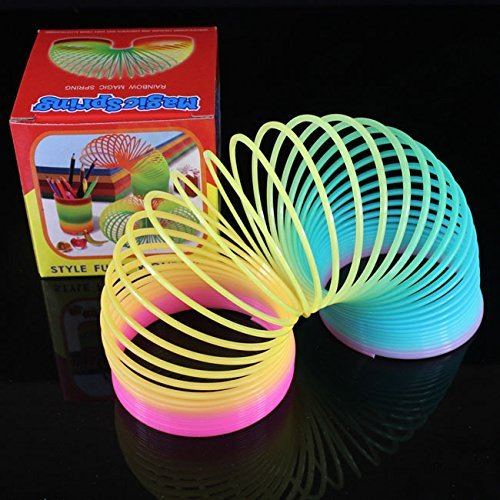 Rainbow Magic Springs,Slinky Spring Toys - 2 pack