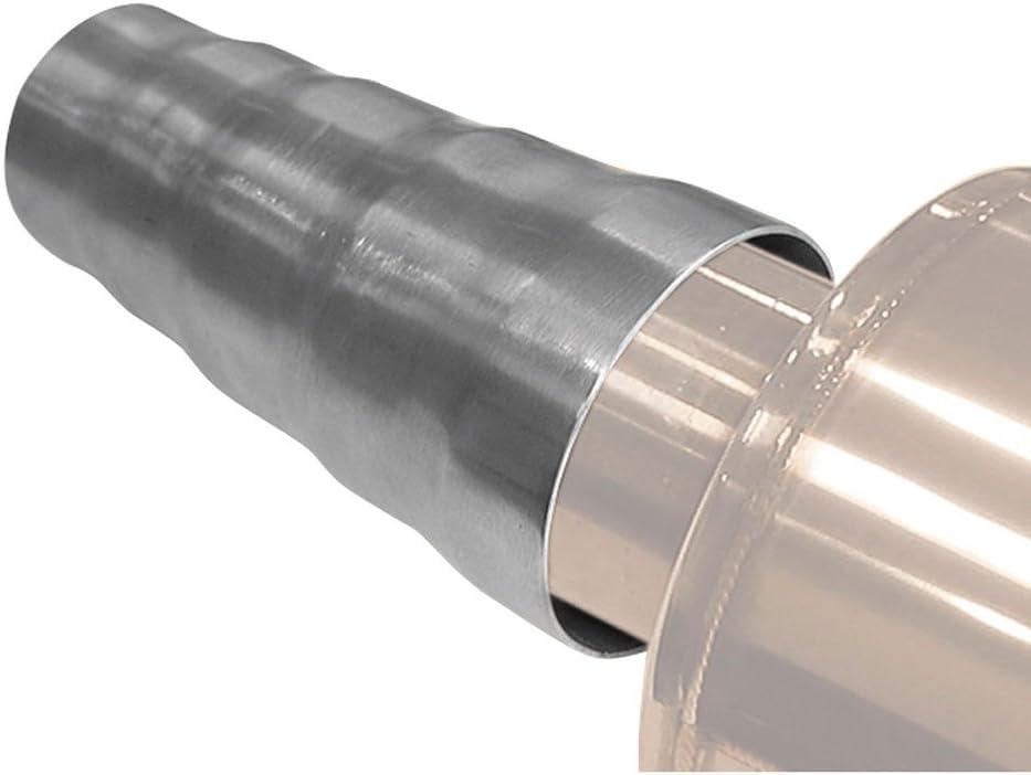 Viesky 51 mm a 38 mm di diametro adattatore saldatura marmitta moto marmitta collegamento tubo di scarico di saldatura moto tubo di collegamento tubo di scarico