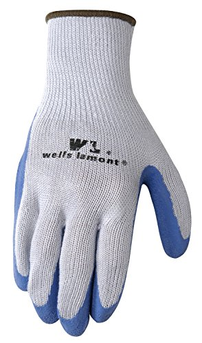 Wells Lamont Latex Coated Work Gloves, Large, 3 Pair Pack (Coated Palm Wells)