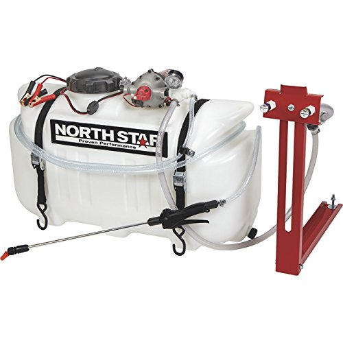 NorthStar ATV Boomless Broadcast and Spot Sprayer — 26-Gallon Capacity, 5.5 GPM, 12 (Boomless Atv Sprayer)