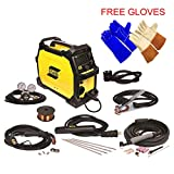 ESAB Rebel EMP 215ic MIG/Stick/Tig Welding Machine - FREE TIG & WELDING GLOVES