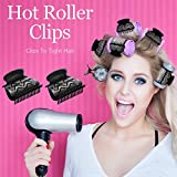 Hot Roller Clips Hair Curler Claw Clips Plastic