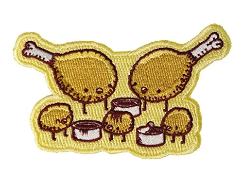 chicken-farm-fried-chicken-legs-nuggets-w-sauce-iron-on-embroidered-patch-applique