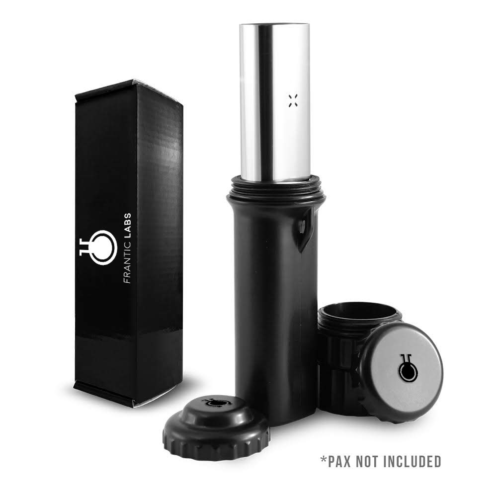 NO Smell Protective CASE for Pax 2 or Pax 3, Odor Stopping & Pocket Carry with Interchangeable STASH CONTAINERS & lids, Pax 2 / Pax 3 Accessories by Frantic Labs by Frantic Labs