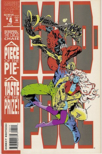 DEADPOOL #4, (The Circle Chase Round 4), November 1993 (VOLUME 1)
