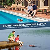 DEERC H120 RC Boat Remote Control Boats for Pools