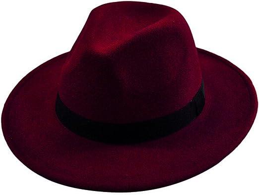 Doitsa Sombreros Fedora y Trilby para Hombre Mujer – Gorra Jazz ...