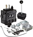 Prince LVR1GB5AB7 Loader Valve, Monoblock, Cast Iron, 2 Spool, 4 Ways, 4 Positions, Single Acting Cylinder Spool, Spring Center with Float Detent, Joystick Handle, 3000 psi, 14 gpm, In/Out: #10 SAE, Work #8 SAE