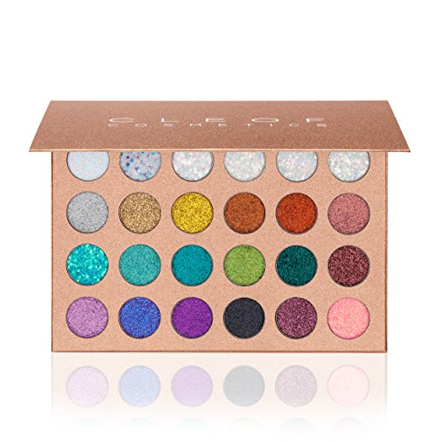 Pressed Glitter Eyeshadow Palette – Festival Version  - Hi