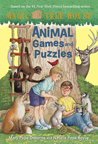 Animals Magic Picture Book (Animal Games and Puzzles (Magic Tree House (R)))