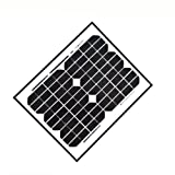 GudCraft SPU10W12V Solar Panel for GTO Mighty Mule Gate Opener 10W 12V
