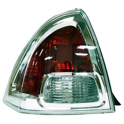 Amazon.com: DRIVER SIDE TAIL LIGHT Ford Fusion LENS AND HOUSING;: Automotive