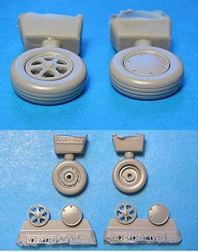 Vector Resin 1//48 scale Wildcat Wheels Radial Tread VDS48031