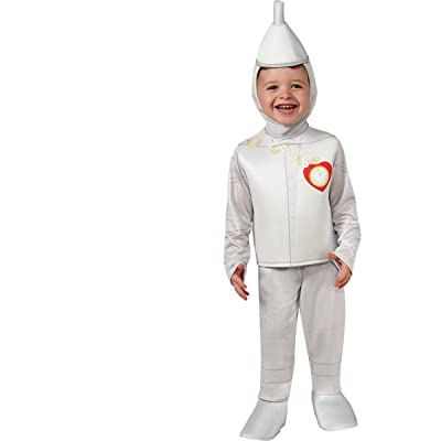 Rubie's Baby's Wizard Of Oz 75Th Anniversary Tinman Toddler Costume, Multi, Toddler: Clothing