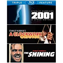 Stanley Kubrick Triple Feature (2001: A Space Odyssey / A Clockwork Orange / The Shining) [Blu-ray] by Warner Home Video
