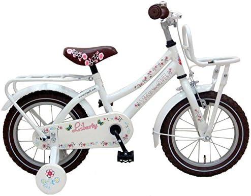 Bicicleta Niña 14 Pulgadas Liberty Urban Ruedas Extraíbles Blanco ...