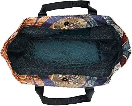 Gattinoni 13x36x34 a Multicolore Donna Classico Spalla cm Gacar0000045 Borsa aXqTar