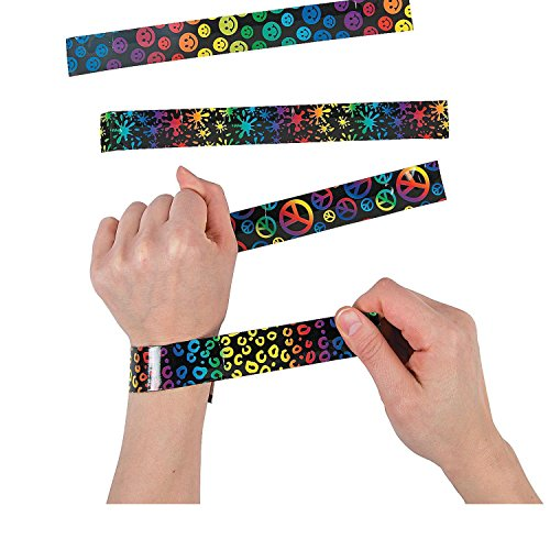 Bargain World Crazy Fun Slap Bracelets
