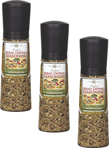Dean Jacob Grinder Mill, Jumbo, Bread Dipping, 5.5-Ounce (Pack of 3)