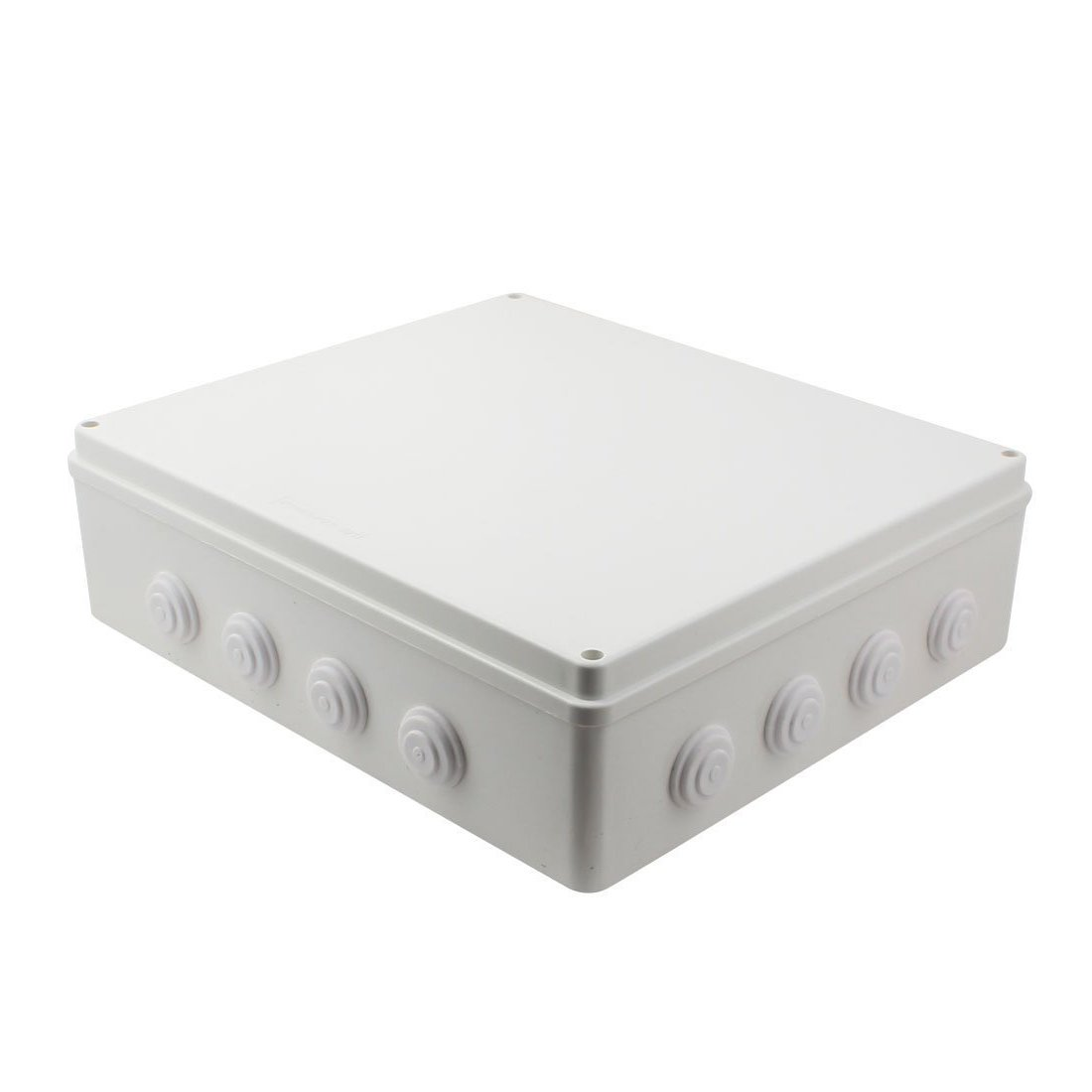 YXQ 400mmx350mmx120mm IP65 Waterproof Junction Box Electric Project DIY Case Power Outdoor Enclosure with Hole 15.7'' x 13.8'' x 4.7''