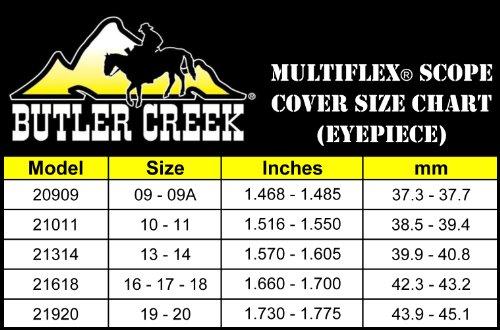 Butler Creek 19-20 Objective Multiflex Flip-Open Scope Cover