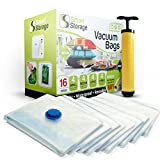 Best Bags For Clothes - Vacuum Storage Bags, 16 Pack by Smart Storage Review