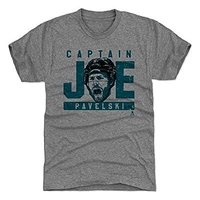 500 LEVEL's Joe Pavelski T-Shirt - San Jose Hockey Fan Gear - Joe Pavelski Grunge