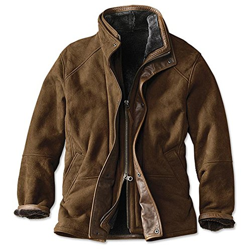 Orvis Men's Bedford Leather Jacket, 48