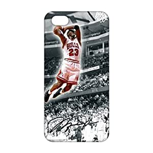 2015 Ultra Thin Bulls 23 flying man Jordon 3D Phone Case for iPhone 5s